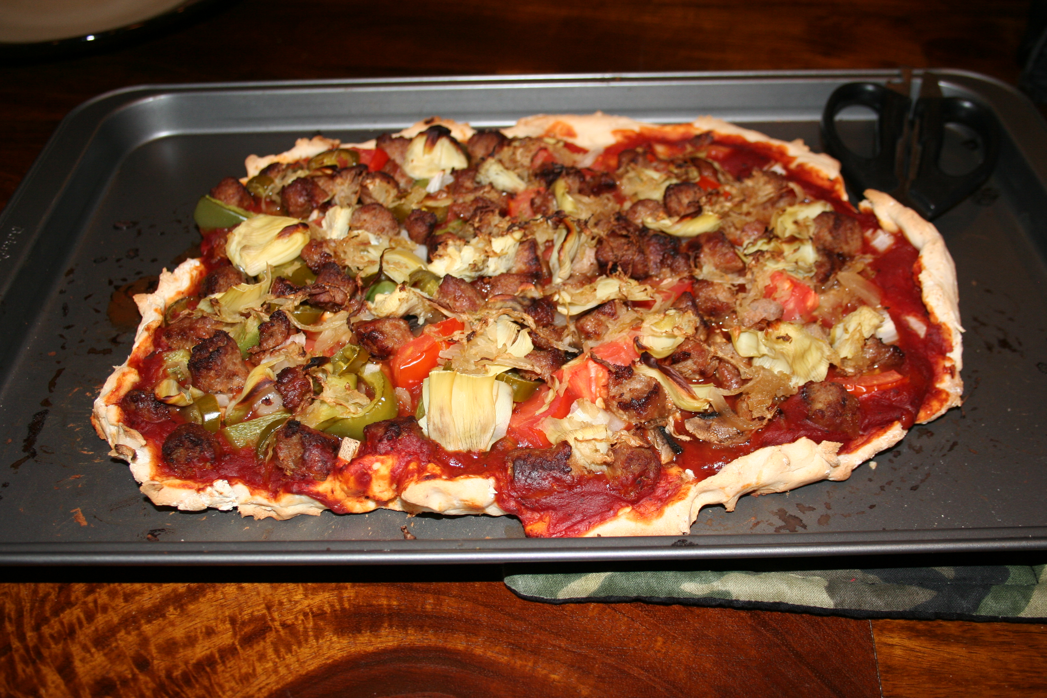 Homemade Pizza – The Keith Stone